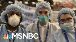 Joe Pays Tribute To Frontline Medical Workers In Song | Morning Joe | MSNBC 4