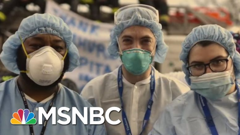Joe Pays Tribute To Frontline Medical Workers In Song | Morning Joe | MSNBC 1