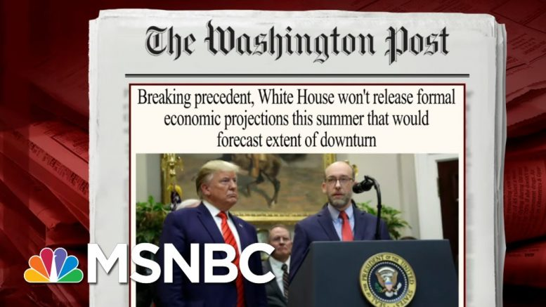 2.1 Million More Americans File For Unemployment Benefits | Morning Joe | MSNBC 1