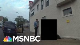 Police Release Redacted Bodycam Footage Of George Floyd Incident | Andrea Mitchell | MSNBC 3