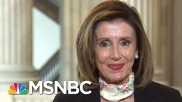 Pelosi: As Americans Die, Trump Uses Feud With Twitter As A 'Distraction' | Andrea Mitchell | MSNBC 9