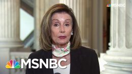 Nancy Pelosi: In Death Of George Floyd, American People 'Saw An Execution' | Andrea Mitchell | MSNBC 2