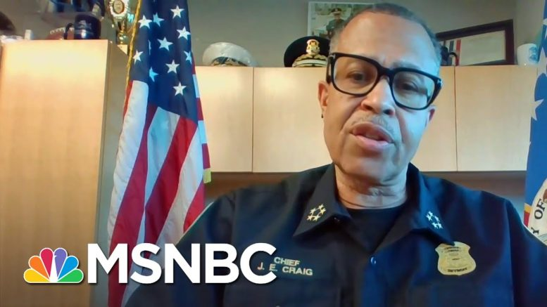 Detroit Police Chief: Officer At Center Of George Floyd's Death 'Committed Murder' | MSNBC 1
