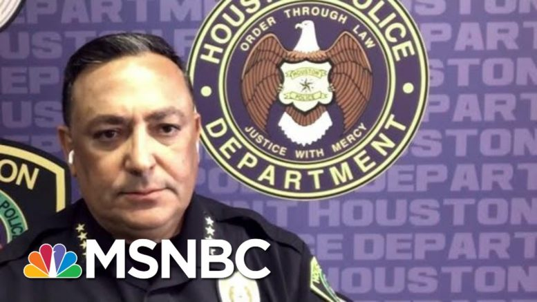 Houston Police Chief: Officers Involved In Floyd Killing Should Be Charged | MTP Daily | MSNBC 1