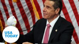 Gov. Andrew Cuomo holds his daily briefing on pandemic response in New York   USA TODAY 6