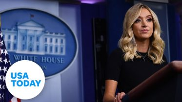 Press Secretary Kayleigh McEnany holds briefing at White House | USA TODAY 6