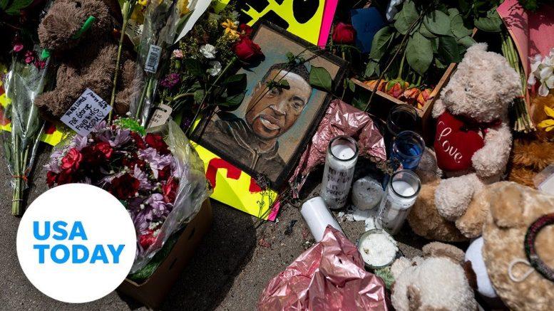 Minneapolis police and FBI speak on George Floyd's death | USA TODAY 1