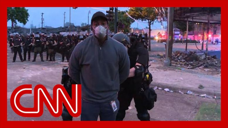 Police arrest CNN correspondent Omar Jimenez and crew on live television 1