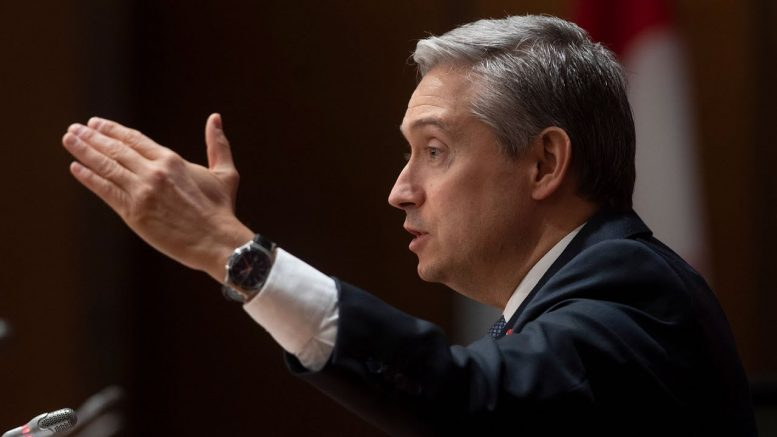 Canada consulting with allies on Hong Kong: Minister Champagne 1