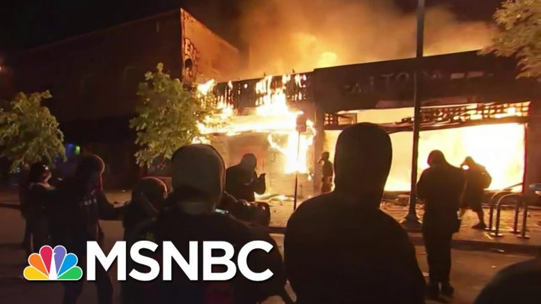 Maya Wiley: Minnesota Protests Are About Anger And Pain | The 11th Hour | MSNBC 1