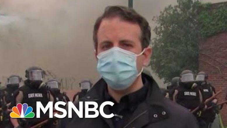 Reporter Describes 'Dramatic Change' In Minneapolis | Morning Joe | MSNBC 1