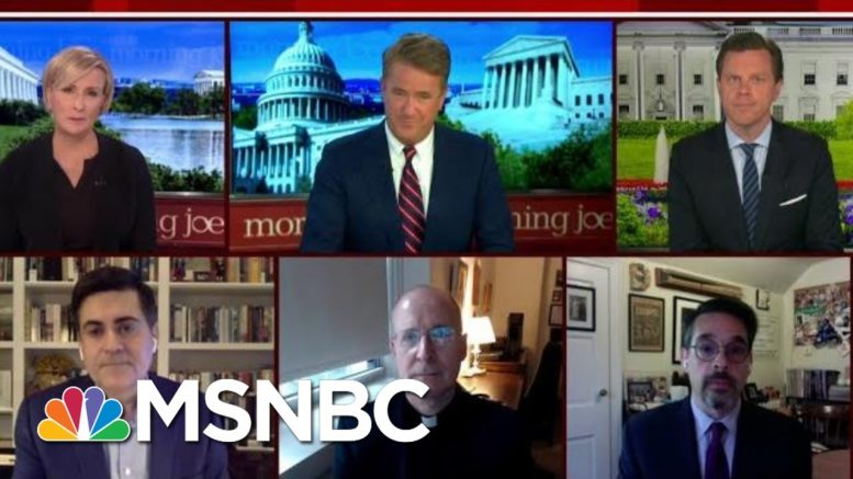 Coping With Loss And Grief Amid The Coronavirus | Morning Joe | MSNBC 1