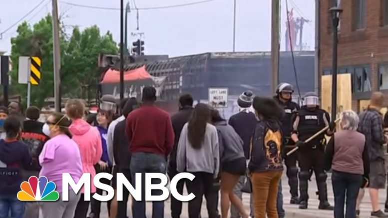 Officer At Center Of George Floyd's Death Taken Into Custody | MSNBC 1
