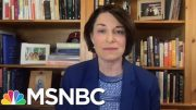 Amy Klobuchar Responds To Claims She Didn't Prosecute Officer In George Floyd's Arrest | MSNBC 3