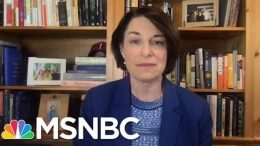 Amy Klobuchar Responds To Claims She Didn't Prosecute Officer In George Floyd's Arrest | MSNBC 1