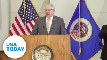 Minnesota Gov. Tim Walz speaks following days of volatile protests in Minneapolis | USA TODAY 6