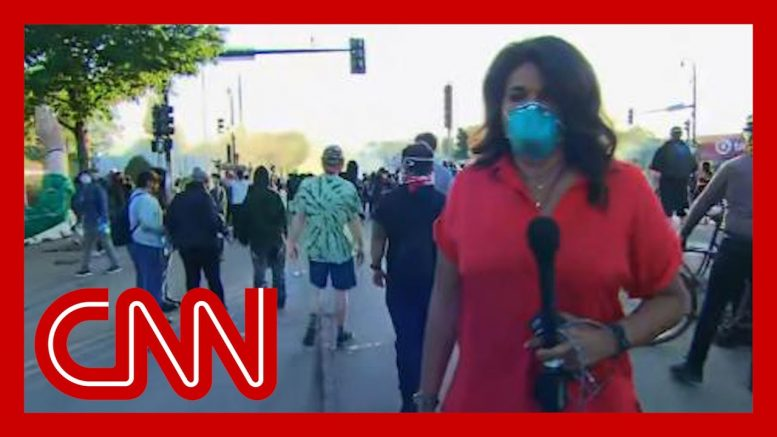 CNN reporter in Minneapolis: I've never seen anything like this 1