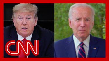 Joe Biden: Trump's protest comments 'thoroughly irresponsible' 6