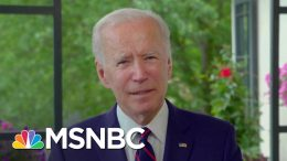 Biden On Death Of George Floyd, Protests: 'The Words Of A President Matter' | The Last Word | MSNBC 9