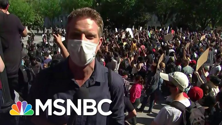 Protest Outside White House 'Tense But Peaceful' | MSNBC 1