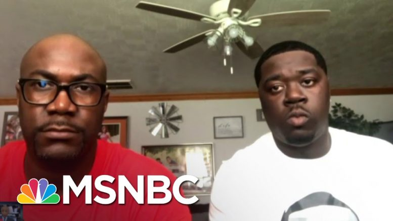 Floyd's Brother: Trump 'Didn't Give Me The Opportunity To Even Speak'   MSNBC 1