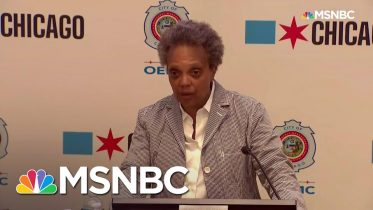 Chicago Mayor Sets Curfew, Expresses 'Total Disgust' As Protesters Come 'For All-Out Battle' | MSNBC 1