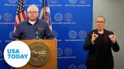 Minnesota leaders address continued unrest after George Floyd's death 2