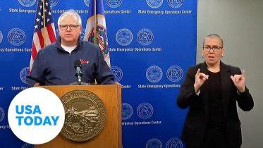 Minnesota leaders address continued unrest after George Floyd's death 6