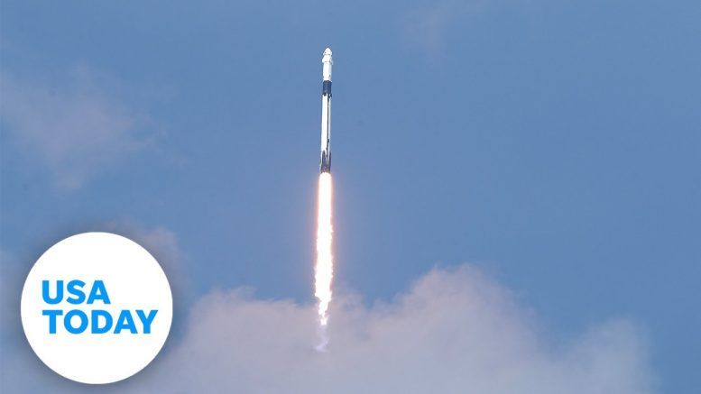 SpaceX and NASA launch astronauts from US soil | USA TODAY 1