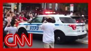 Video appears to show NYPD truck plowing through crowd 2