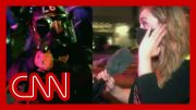 Officer fires pepper balls at reporter 4