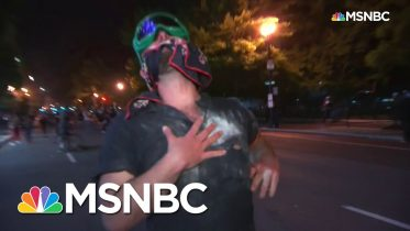 Police Fire Pepper Bullets At Protesters In Chaotic Washington, D.C. Scene | MSNBC 2