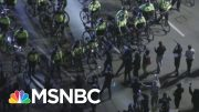 Protesters, Bike-Mounted Police Face Off In Boston | MSNBC 4