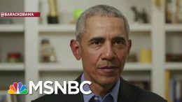 'Joe Gets Stuff Done': Obama Endorses Biden's Presidential Campaign | Andrea Mitchell | MSNBC 2