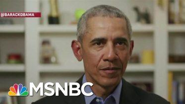 'Joe Gets Stuff Done': Obama Endorses Biden's Presidential Campaign   Andrea Mitchell   MSNBC 6