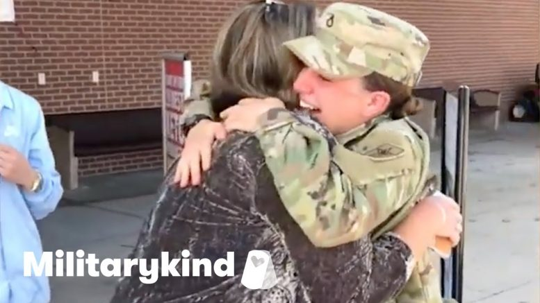Heartwarming surprise reunion for soldier and family | Militarykind 1