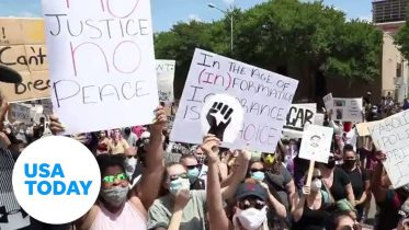 Austin protest calls for justice for George Floyd | USA TODAY 6
