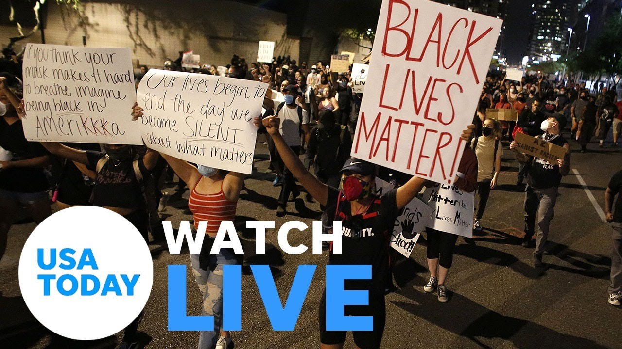 Protests continue across the country over George Floyd's death (LIVE) | USA TODAY 5