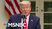 Amid Coronavirus Criticism, Trump Pins Blame On WHO | Morning Joe | MSNBC 4