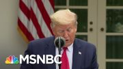 Trump, Eager To Restart The Economy By May, Says He 'Won't Pressure' Governors | Deadline | MSNBC 4
