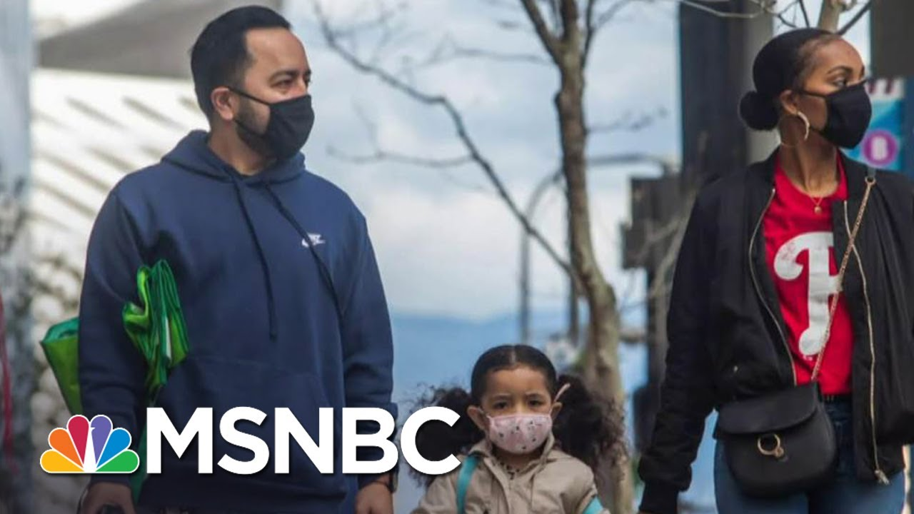 CDC Changes Guidance, Says People Should Wear Face Coverings When Outside | The Day That Was | MSNBC 3