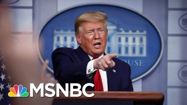 Has Trump Replaced His Rallies With Coronavirus Briefings? | MSNBC 6