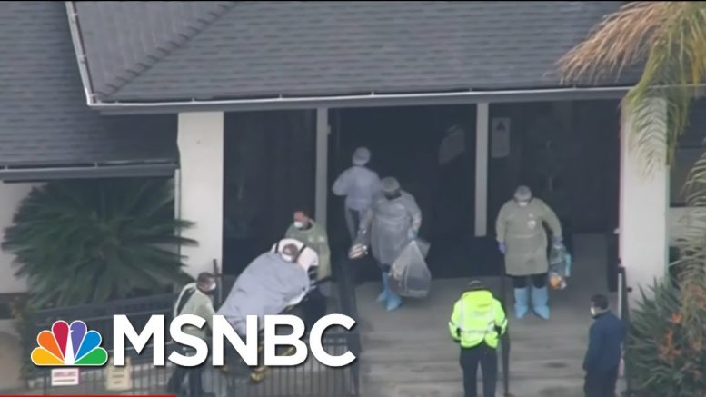 Lack Of National COVID-19 Testing Leaves Nursing Home Front Line In Shadow | Rachel Maddow | MSNBC 1