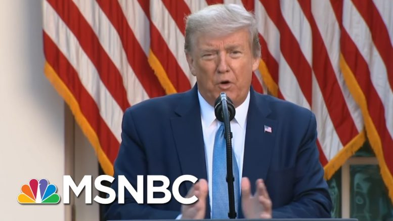 Amid Building Economic Anxieties, State Leaders Pressured To Reopen - Ready Or Not | MSNBC 1