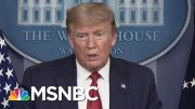 Key Feature Missing From White House's Reopening Plan: Mass Testing - Day That Was | MSNBC 2