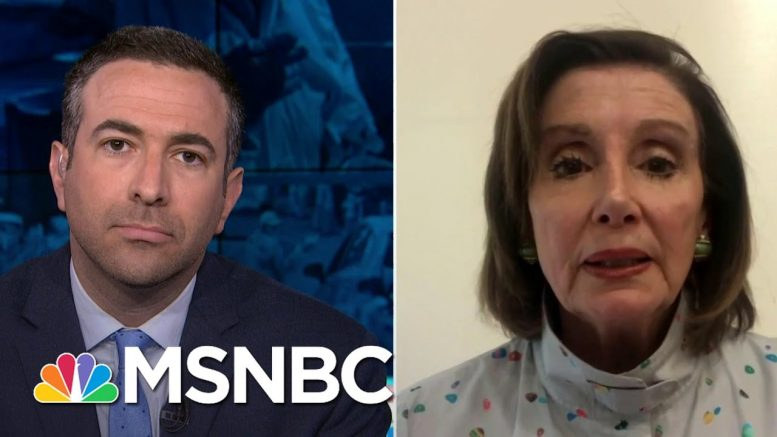 'Deadly': Pelosi Says Trump's Coronavirus Failures Cost American Lives | MSNBC 1