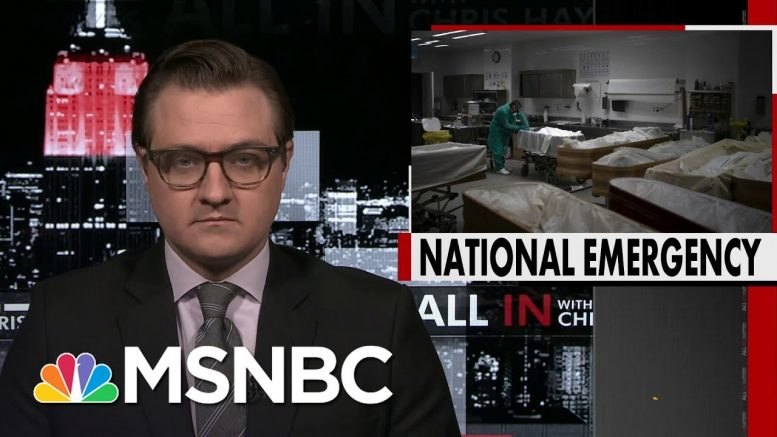 Chris Hayes On How Uniquely Devastating And Deadly The Coronavirus Is | All In | MSNBC 1