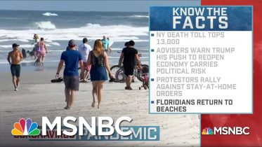 Florida Reopens Beaches, Protesters Rally In Several States, U.S. Fatalities Surpass 37,000 | MSNBC 6