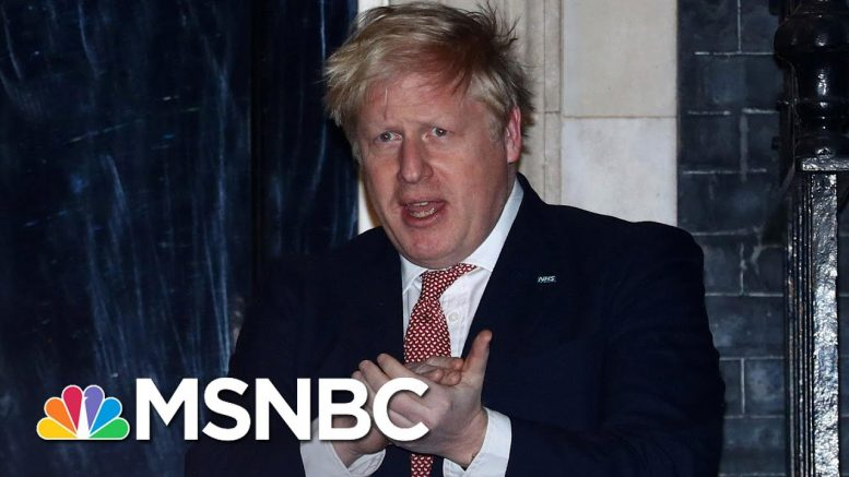 British Prime Minister Boris Johnson Admitted To Hospital With Persistent COVID-19 Symptoms | MSNBC 1