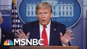 Elizabeth Goitein: Trump 'Doesn't Quite Understand' COVID-19 Pandemic Is Not A War | MSNBC 2